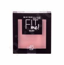 Maybelline Fit Me!, skaistalai moterims, 5g, (45 Plum)