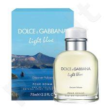 Dolce & Gabbana Light Blue Discover Vulcano, tualetinis vanduo vyrams, 125ml, (testeris)