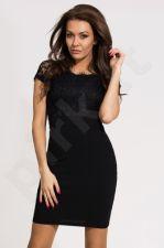 Emamoda suknelė - juoda 9703-1