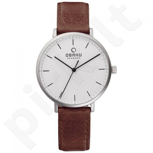Moteriškas laikrodis Obaku V186LXCWRN