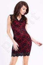 Emamoda suknelė - raudona 11004-5