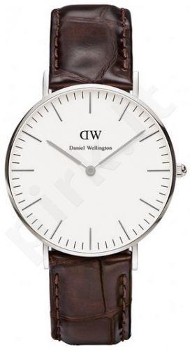 Laikrodis DANIEL WELLINGTON YORK SILVER