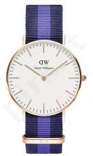 Laikrodis DANIEL WELLINGTON SWANSEA ROSE GOLD 0504DW