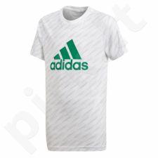 Marškinėliai adidas YB Logo Tee Jr CF6512