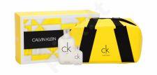 Calvin Klein CK One, rinkinys tualetinis vanduo moterims ir vyrams, (EDT 100 ml + EDT 10 ml + kosmetika krepšys)