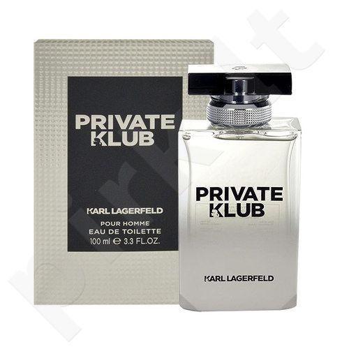 Lagerfeld Karl Lagerfeld Private Klub, EDT vyrams, 100ml