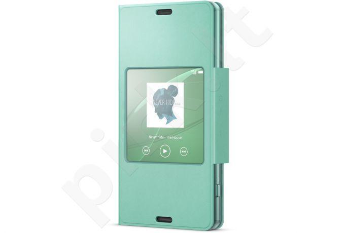 Sony Style dėklas Xperia Z3 Compact SCR26 žalias