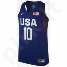Marškinėliai krepšiniui Nike USAB Vapor Replica Kyrie Irving M 768810-458