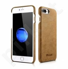 Leather back cover case, brown (iPhone 7 Plus/ 8 Plus)