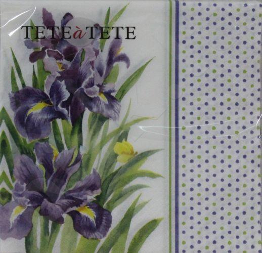 Servetėlės Tat Ed Blue Iris 94992