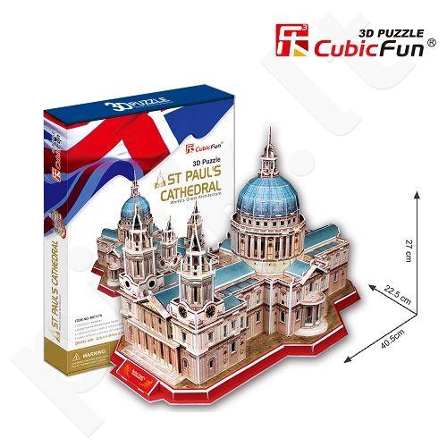 3D dėlionė: Šv. Pauliaus katedra