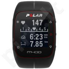 Polar širdies ritmo matuoklis M400 juodas