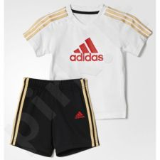 Komplektas Adidas Summer County Set Kids AK2615