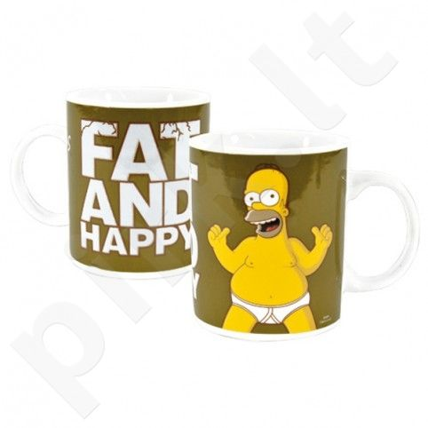 "Simpsonų puodelis ""Fat and Happy"""