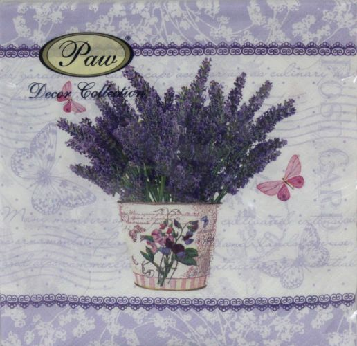Servetėlės Flowering Lavender 94982