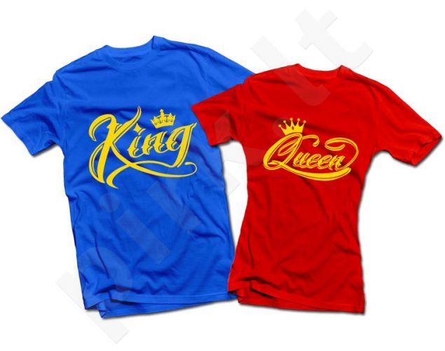 "Marškinėlių komplektas ""King & Queen"""
