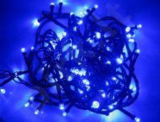200 LED lempučių elektrinė kalėdinė girlianda mėlyna