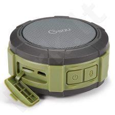 Portable, waterproof Bluetooth speaker, Micro SD card, 4W