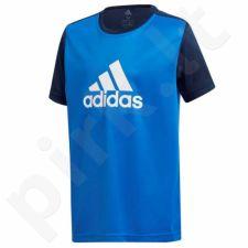 Marškinėliai treniruotėms adidas YB GU Tee Junior DJ1187