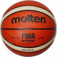 Kamuolys krepš training BGM5X FIBA sint. oda