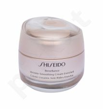 Shiseido Benefiance, Wrinkle Smoothing Cream Enriched, dieninis kremas moterims, 50ml