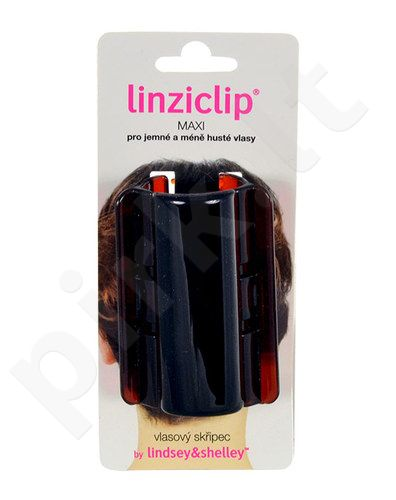 Linziclip Maxi Hair Clip, kosmetika moterims, 1vnt, (Brown)