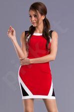 Emamoda suknelė - raudona 9405-1
