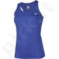 Marškinėliai treniruotėms 4f W H4L17-TSDF001 mėlyna