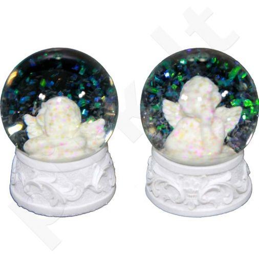 Stiklo Rutulys su angelais 83111