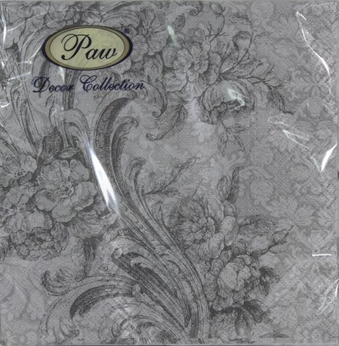 Servetėlės Baroque Style Silver 95929