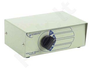 Gembird spausdintuvo perjungėjas USB 4/1