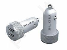 BLOW Automobilinis USB įkroviklis su 2 USB jungtimis 4,8A IQcharge