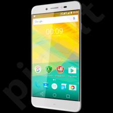 "Prestigio GRACE Z5 5.26"" HD IPS 2.5D, Dual SIM, Android 6.0, Quad-Core 1,3GHz, 720*1280, 8 GB eMMC, 1 GB RAM, 8.0 Selfie Mode + 13.0Mpx with triple flash (Samsung sensors), 2600mAh, Rose Gold"