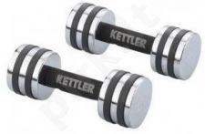 Hanteliai chromuoti Kettler 2*3 kg