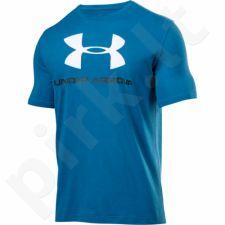 Marškinėliai treniruotėms Under Armour Sportstyle Logo M 1257615-787