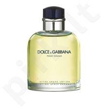 Dolce & Gabbana Pour Homme, 125ml, losjonas po skutimosi, vyrams