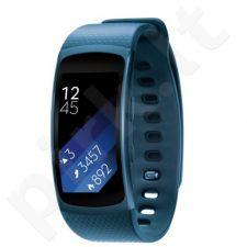 Išmanusis laikrodis Samsung Galaxy Gear Fit2 L dydis mėlynas