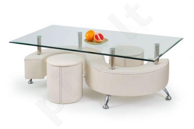 NINA 3 staliukas su pufais