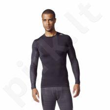 Marškinėliai treniruotėms adidas Tech Fit TF Tee LS CL GX M CD3650