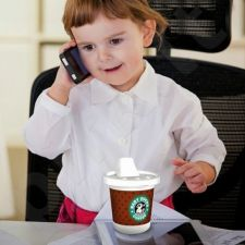 """Kūdikio buteliukas """"Baby duck coffee"""""""