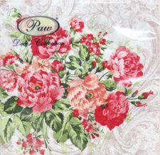 Servetėlės Untamed Roses 96387