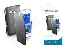Samsung Galaxy Trend 2 dėklas BOOK ESSEN Cellular juodas