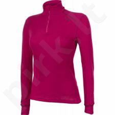 Marškinėliai termoaktyvūs ODLO Shirt Turtle Neck 1/2 zip Warm W 152001/30257