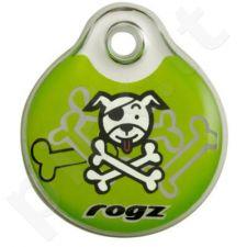 Pakabukas šuniui PASSPORT mažas Lime Bone