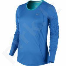 Marškinėliai bėgimui  Nike RACER LONG SLEEVE W 645445-435