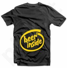 "Marškinėliai ""Beer inside"""