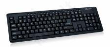 Klaviatūra Vakoss Multimedia USB TK-108UK Juoda