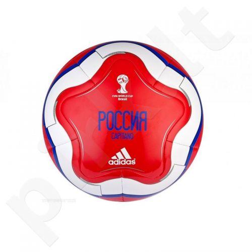 Kamuolys futbolui Adidas Capitano Russia Pasaulio čempionatas 2014 Brazilija G83993