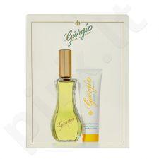 Giorgio Beverly Hills Yellow rinkinys moterims, (EDT 90ml + 50ml kūno losjonas)