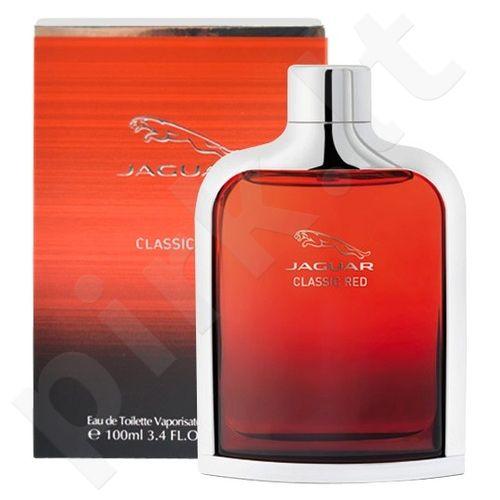 Jaguar Classic Red, EDT vyrams, 100ml, (testeris)